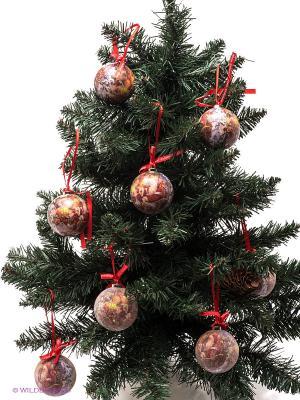 Набор шаров Mister Christmas. Цвет: красный, белый, зеленый