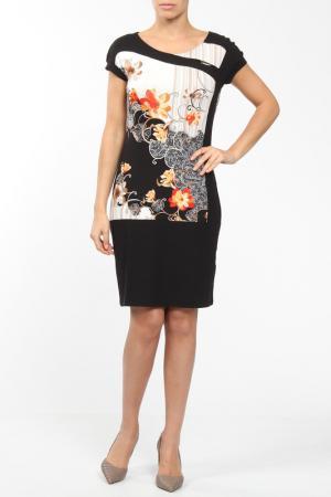 Платье M&L Collection. Цвет: оранжевый