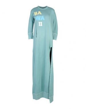 Длинное платье DSQUARED2. Цвет: светло-зеленый