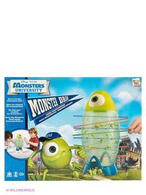 Игра  Сбрось монстров Monster University, в коробке IMC toys. Цвет: зеленый, голубой