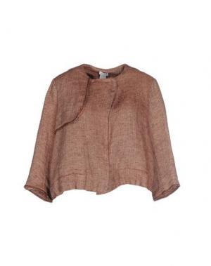 Пиджак RE.SET. Цвет: коричневый