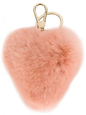 Брелок Bubble Furla. Цвет: розовый и фиолетовый