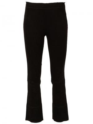 Укороченные брюки Maxime Stouls. Цвет: чёрный