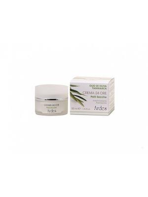 Ardes Крем  анти-возрастной питательный 24 часа для сухой кожи с гиалуроновой кислотой 50 мл.. Цвет: белый