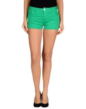 Повседневные шорты BENCH. Цвет: зеленый