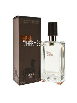 Туалетная вода Terre DHermes, 50 мл Hermes. Цвет: белый, кремовый