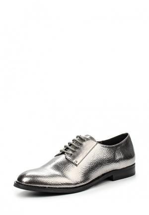 Ботинки Steve Madden. Цвет: серебряный