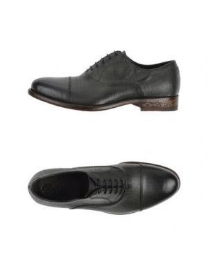 Обувь на шнурках CERBERO. Цвет: темно-зеленый