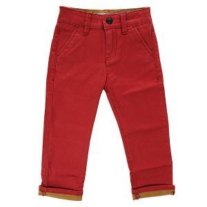 Штаны прямые детские  Krandyst Block Ndpt Rosewood Quiksilver. Цвет: бордовый