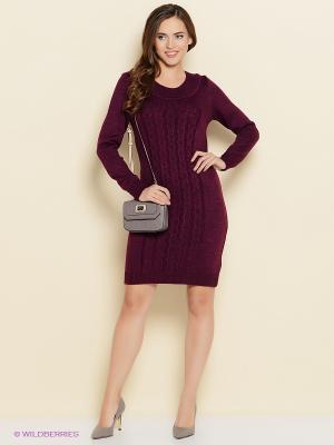 Платье ARBOR VITAE. Цвет: фиолетовый