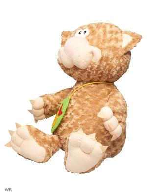Мягкая игрушка Кот Киса 9.144.1 цвет бежевый Malvina. Цвет: бежевый