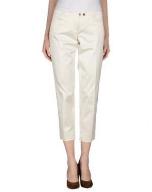 Повседневные брюки WEBER. Цвет: слоновая кость