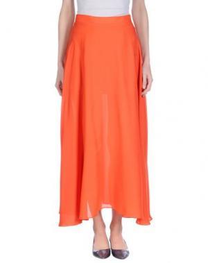 Длинная юбка CUTIE. Цвет: красный
