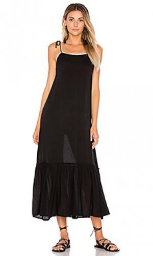 Платье-комбинация pipa Cleobella. Цвет: черный