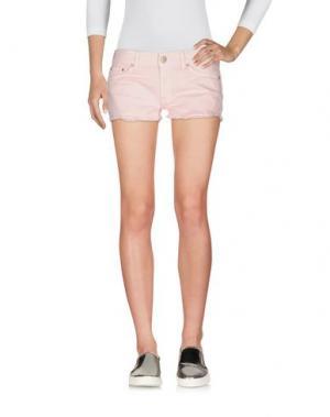 Джинсовые шорты DONDUP. Цвет: розовый
