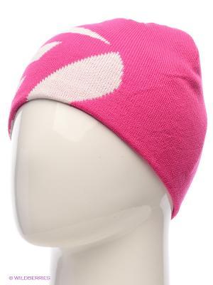 Шапка Icepeak. Цвет: розовый, белый