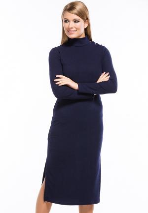Платье Remix. Цвет: синий