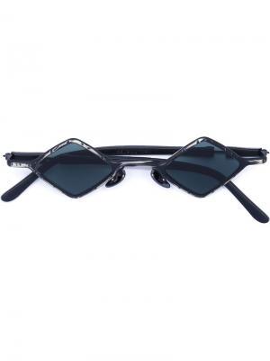 Солнцезащитные очки Mask Z12 Kuboraum. Цвет: серый
