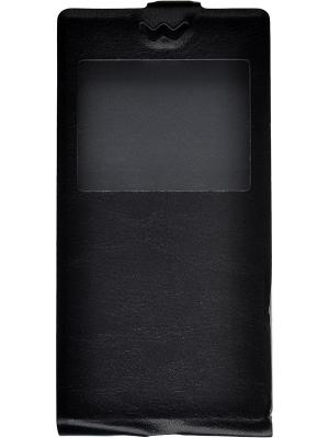 Флип-кейс Huawei P8 Lite skinBOX. Цвет: черный