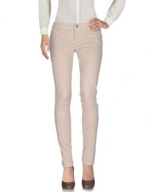 Повседневные брюки SOUVENIR. Цвет: бежевый