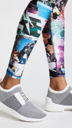 Star Wars Scrapbook Tall Band Leggings Terez