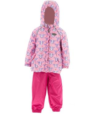 Комплект одежды REIKE. Цвет: розовый