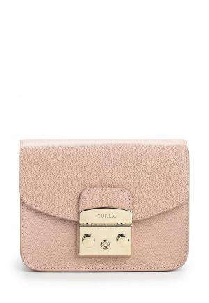 Сумка Furla. Цвет: розовый