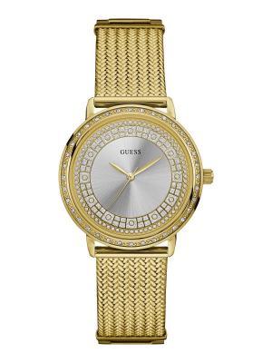 Часы GUESS. Цвет: серебристый, золотистый