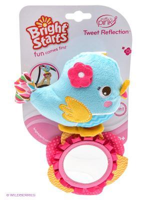 Развиващая игрушка Птичка BRIGHT STARTS. Цвет: голубой, розовый