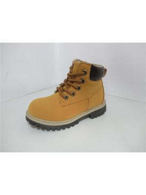 Ботинки VivaKid. Цвет: желтый