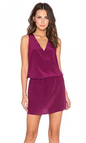 Платье berta Rory Beca. Цвет: фиолетовый