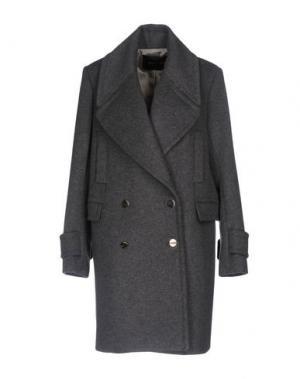 Пальто TARA JARMON. Цвет: серый