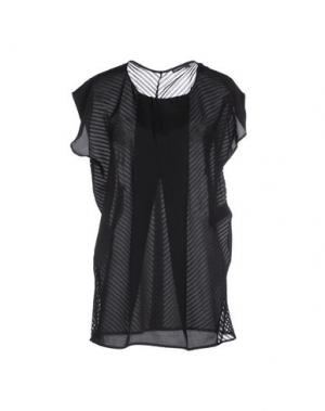 Блузка NEW YORK INDUSTRIE. Цвет: черный