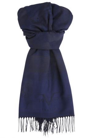 Шарф Versace 19.69. Цвет: navy