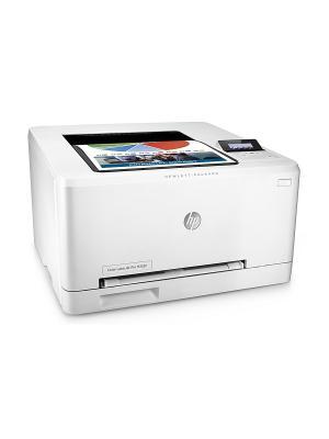 Принтер лазерный HP Color LaserJet Pro M252dw. Цвет: белый