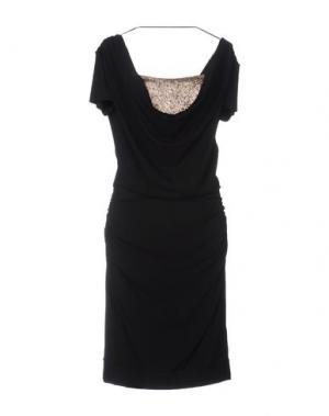 Платье до колена TOY G.. Цвет: черный