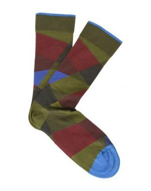 Короткие носки BONNE MAISON. Цвет: зеленый-милитари