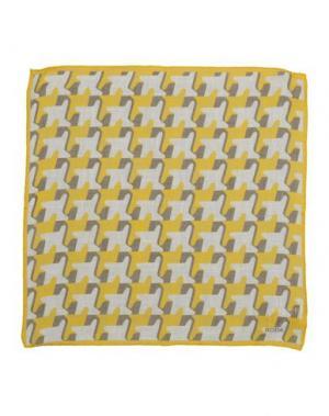 Платок RODA. Цвет: желтый