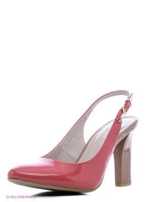Босоножки Calipso. Цвет: розовый