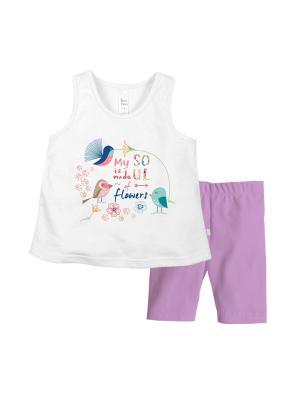 Комплект одежды Bossa Nova. Цвет: белый