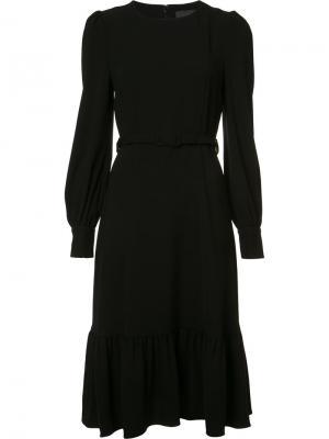 Платье шифт с поясом Co. Цвет: чёрный