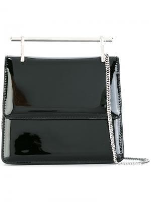 Мини сумка La Collectionneuse M2malletier. Цвет: чёрный