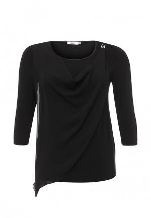 Блуза Lina. Цвет: черный