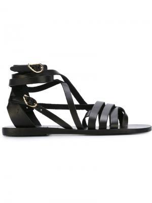 Сандалии Satira Ancient Greek Sandals. Цвет: чёрный