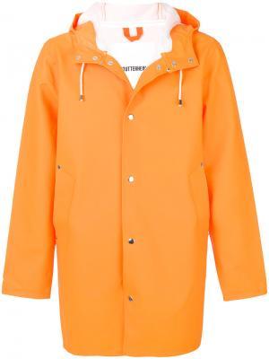 Плащ Stockholm Stutterheim. Цвет: жёлтый и оранжевый