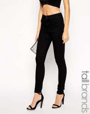 Taller Than Your Average Стретчевые джинсы скинни TTYA. Цвет: черный