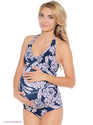 Купальник для беременных ФЭСТ. Цвет: бирюзовый