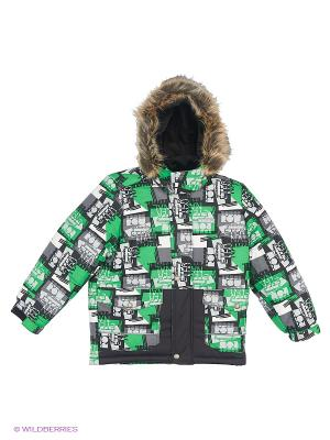 Куртка Kerry. Цвет: зеленый, темно-серый, темно-зеленый