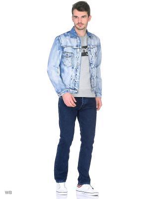 Куртка RETRO JACKET Wrangler. Цвет: голубой
