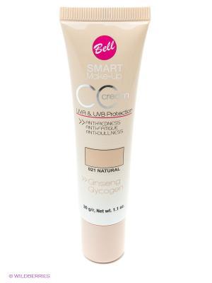 Комплексный флюид CC Cream, тон 21 Bell. Цвет: бежевый